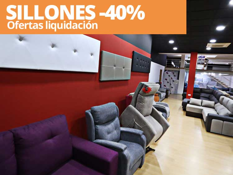 Sillones relax baratos de dise o reclinables orejeros for Sillones salon baratos