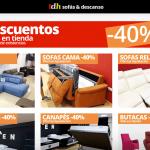 Nueva página web TDH Sofás t colchones Elche y Petrer